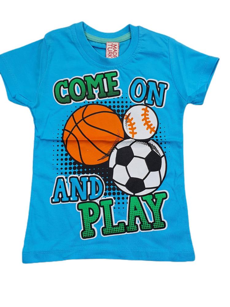 Хлопковые футболки модель 3.TRG.3656.MAVI