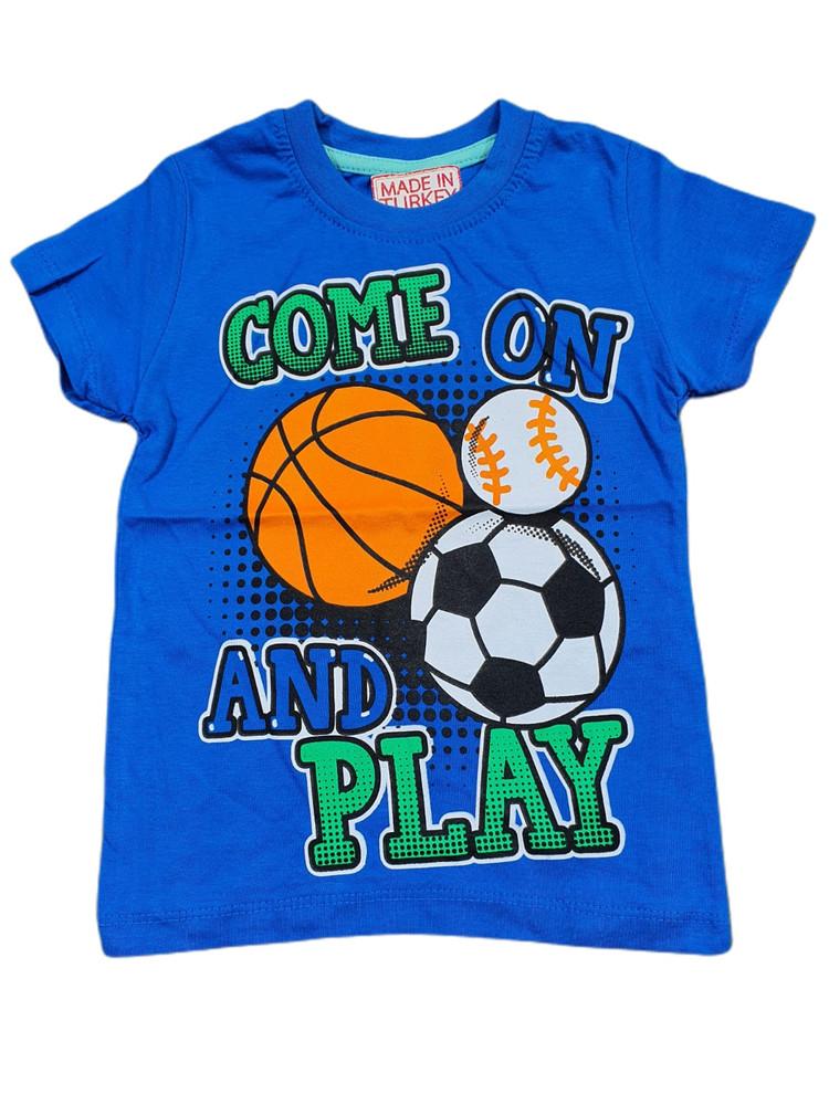 Хлопковые футболки модель 3.TRG.3656.SAKS