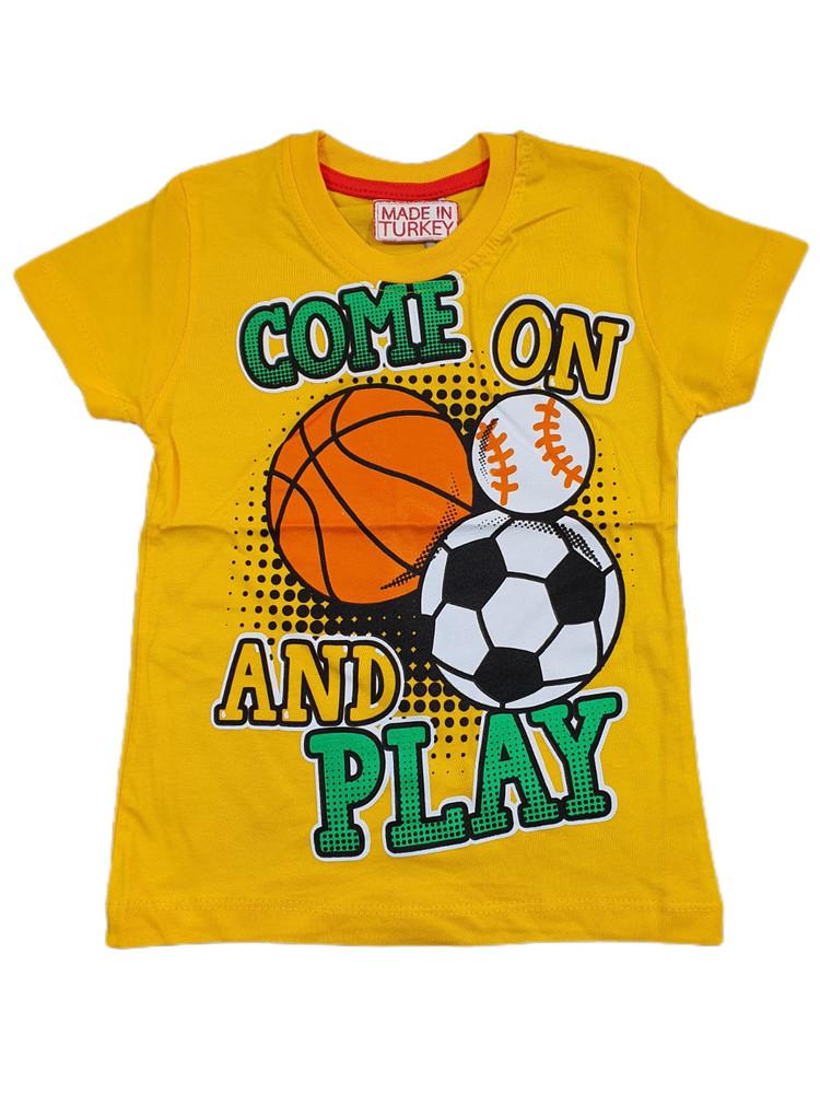 Хлопковые футболки модель 3.TRG.3656.SARI