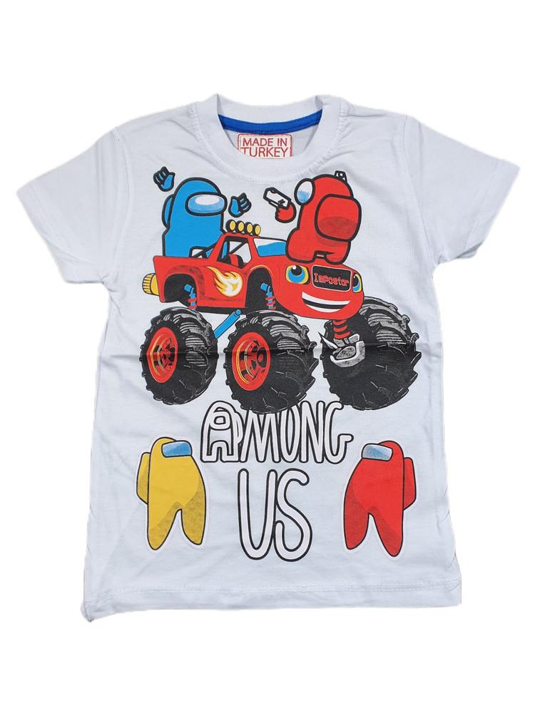 Хлопковые футболки модель 3.TRG.3657.BEYAZ