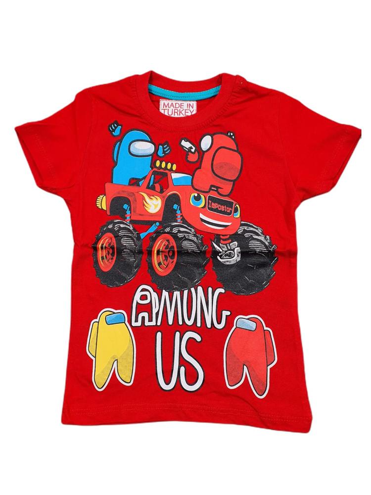 Хлопковые футболки модель 3.TRG.3657.KIRM