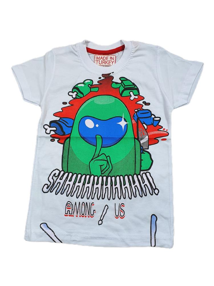 Хлопковые футболки модель 3.TRG.3658.BEYAZ