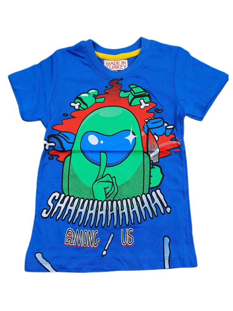 Хлопковые футболки модель 3.TRG.3658.SAKS