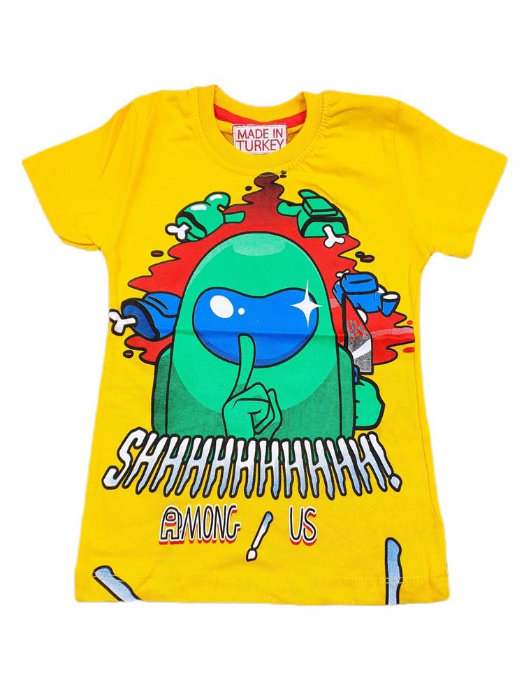 Хлопковые футболки модель 3.TRG.3658.SARI
