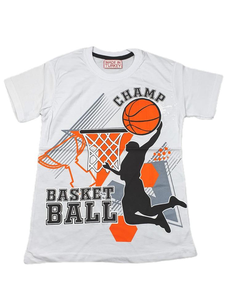 Хлопковые футболки модель 3.MPP.BUYUK.2592.BEYAZ