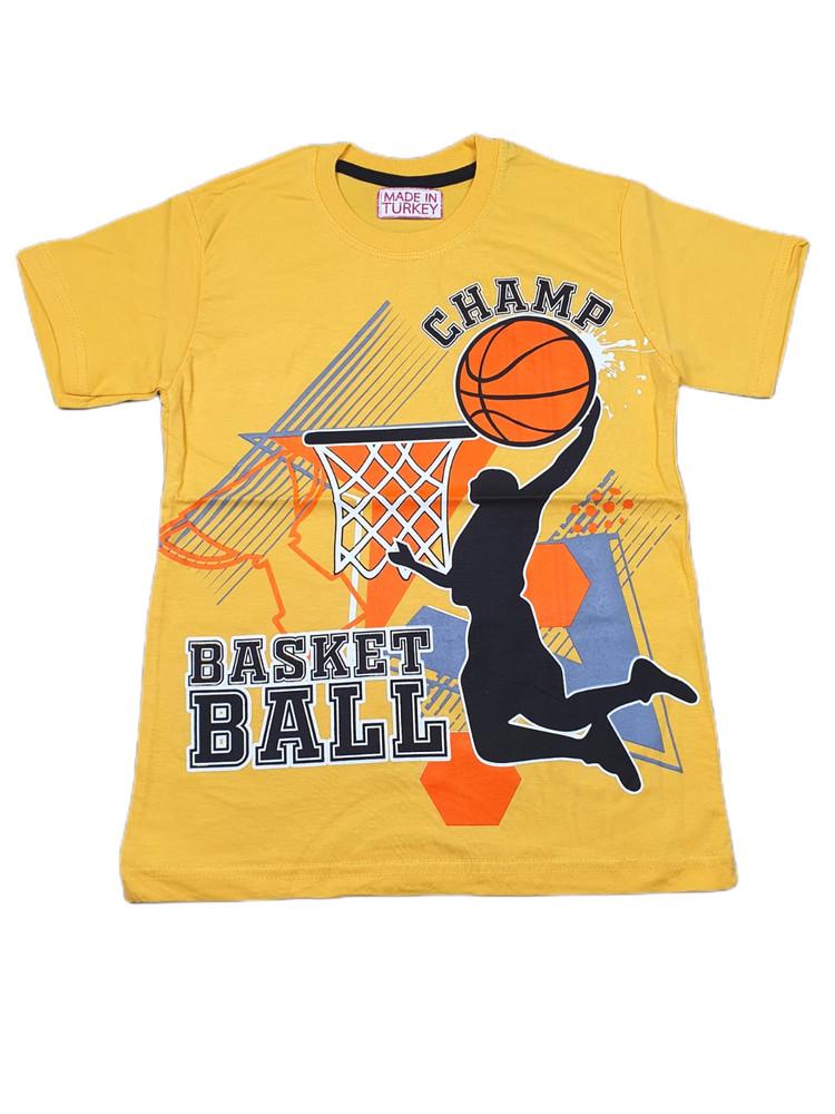 Хлопковые футболки модель 3.MPP.BUYUK.2592.SARI