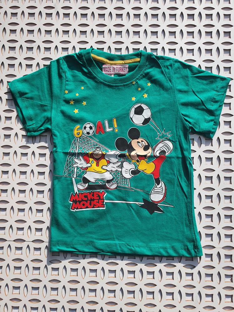 Футболки хлопковые модель 4.TRG.3160.YESIL