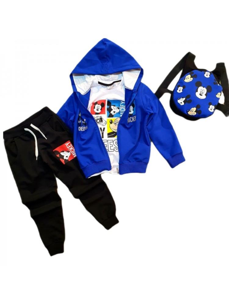 Шикарные качественные костюмы 4 ПРЕДМЕТА модель 1.DIS.3314.UZUN KOL.SAKS