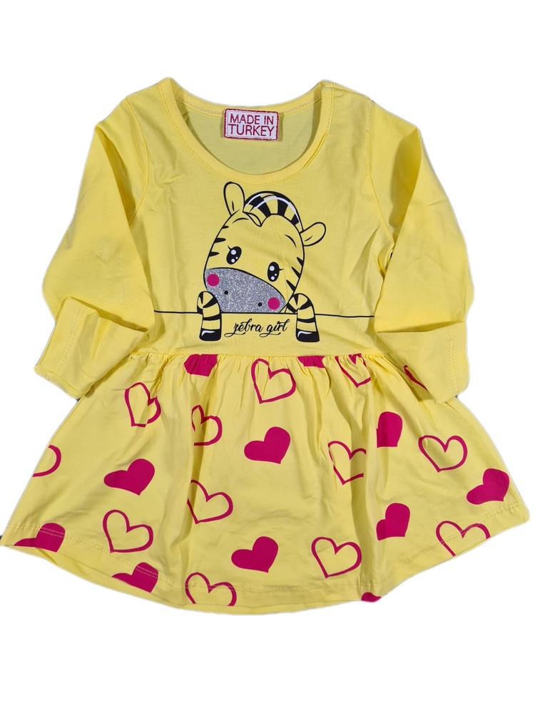 Платье хлопковое модель 4.HEES.3482.ZEBRA.SARI