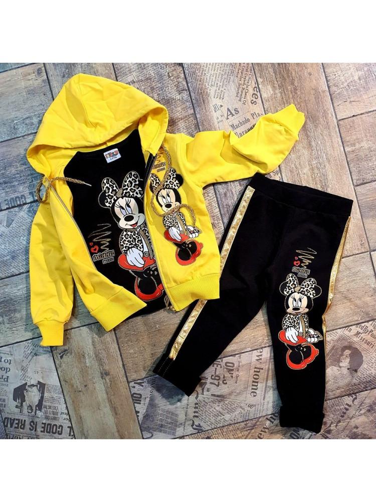 Шикарные костюмы с начесом модель 4.DIS.3543.SARI