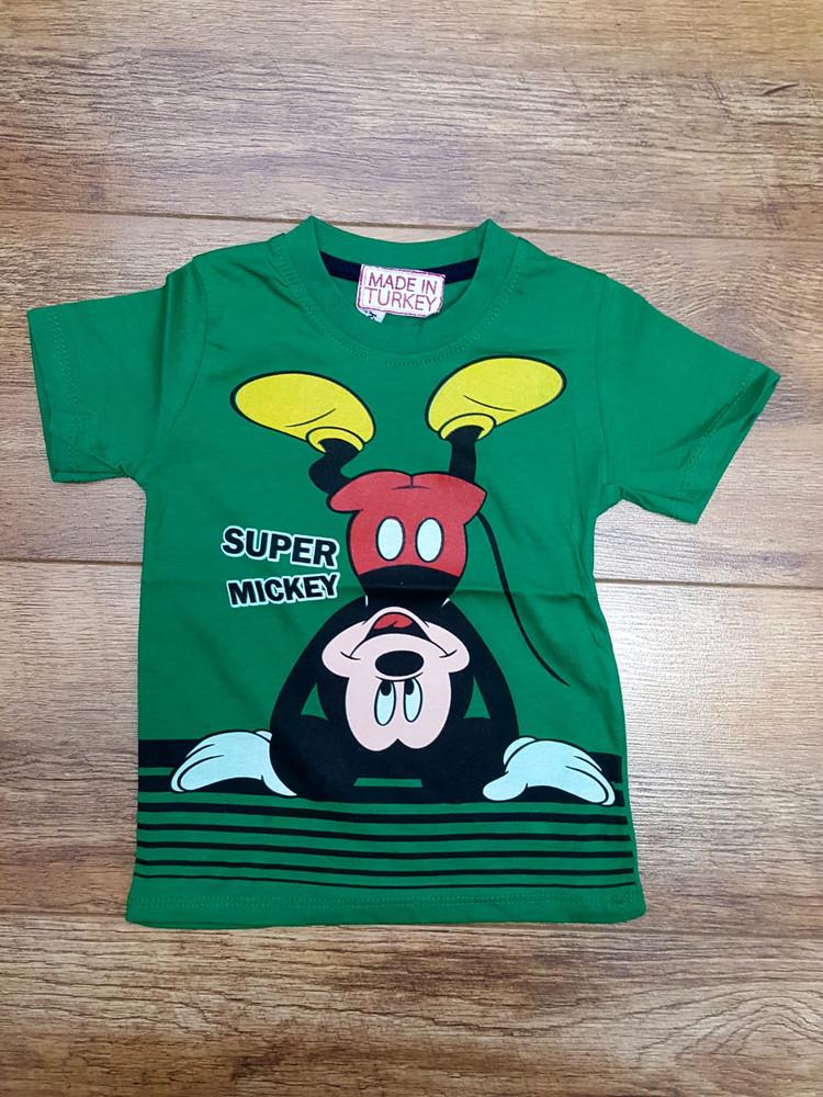 Хлопковые футболки качественные модель 3.TRG.1676.SUPERM17.YESİL
