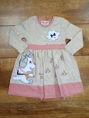 Хлопковое платье BABY PİNK
