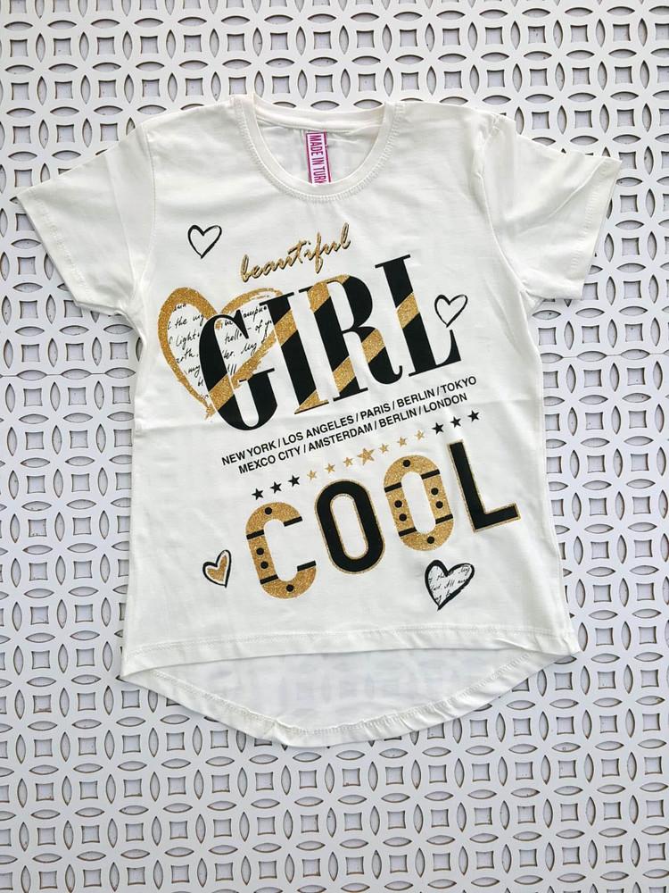 Подростковые футболки модель 4.TRG.2017.KALPGİRL.BEYAZ