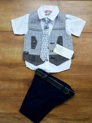 Комплект нарядный тройка с галстуком ЛЮКС