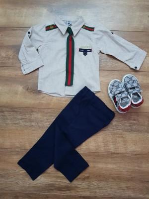 Костюм Gucci c обувью и галстуком